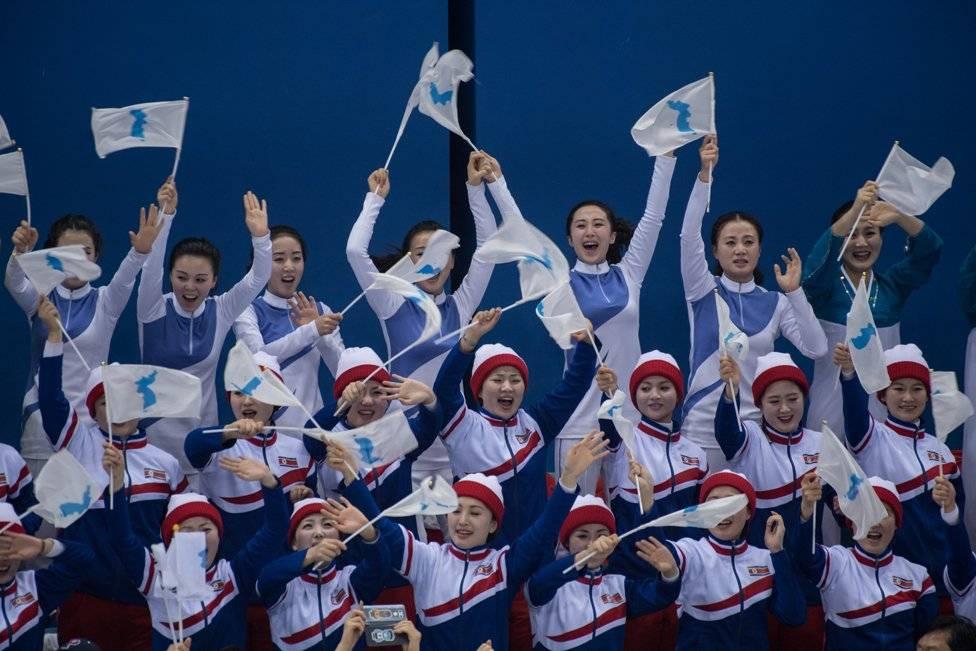 El equipo unificado de Corea logró el primer gol de su historia