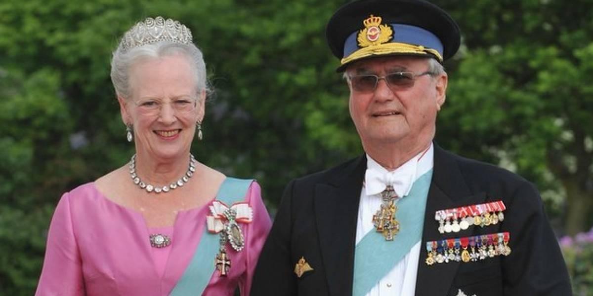 """Morre Henrique da Dinamarca, o príncipe """"infeliz"""" que se negou a ser enterrado com a esposa"""