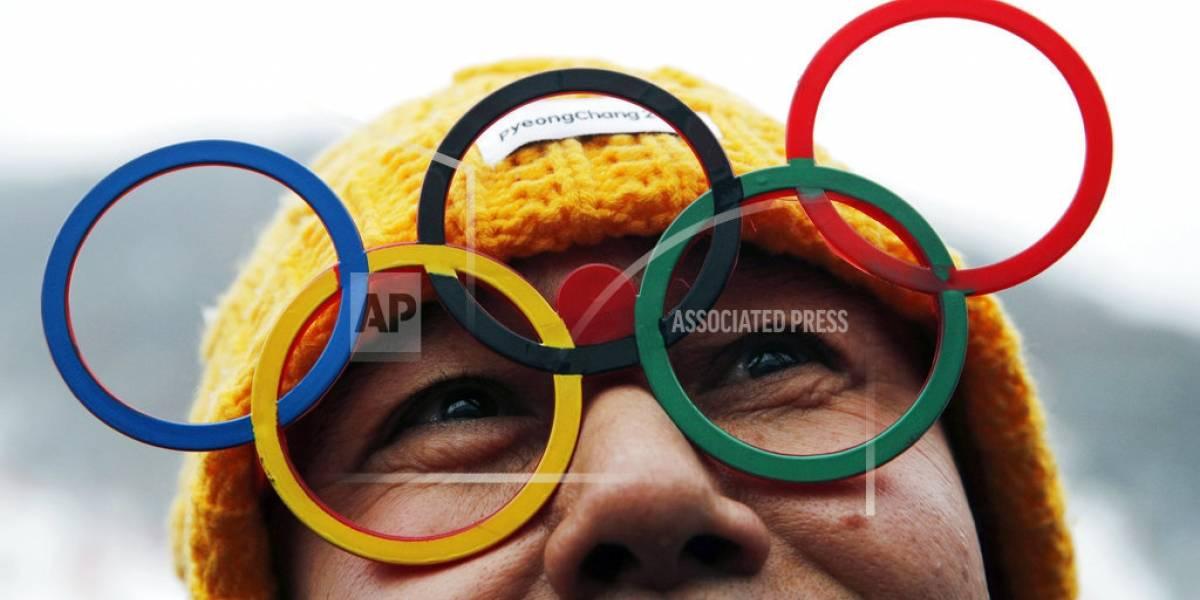 Las fotos de hoy en los Olímpicos de Invierno