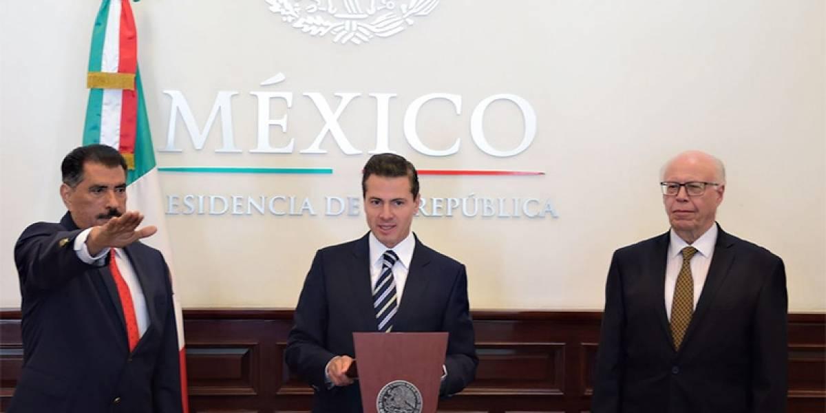 Peña Nieto designa a Florentino Castro como nuevo titular del ISSSTE