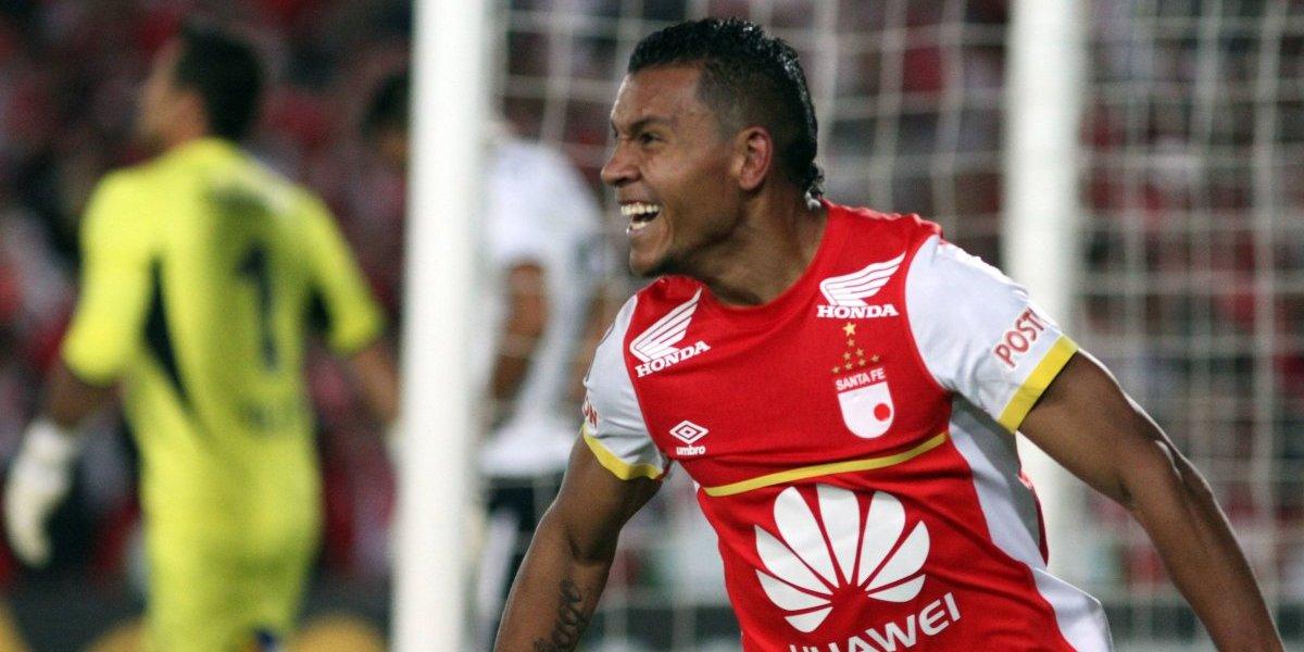 Wilson Morelo volvió a ser la bestia negra de un equipo chileno en la Libertadores
