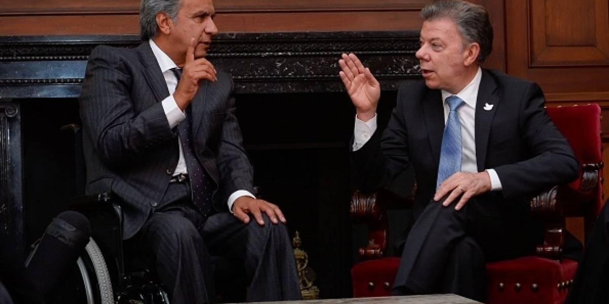 Ecuador planteará a Colombia temas de migración, cooperación y seguridad