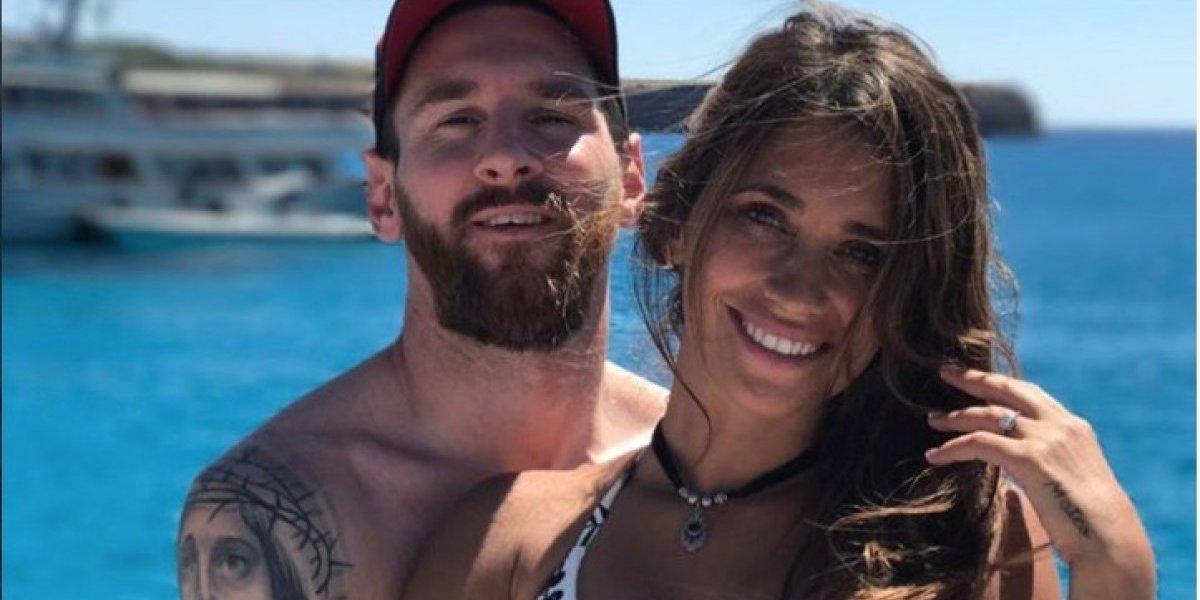 Antonela Roccuzzo enamora en Instagram en el Día de los enamorados
