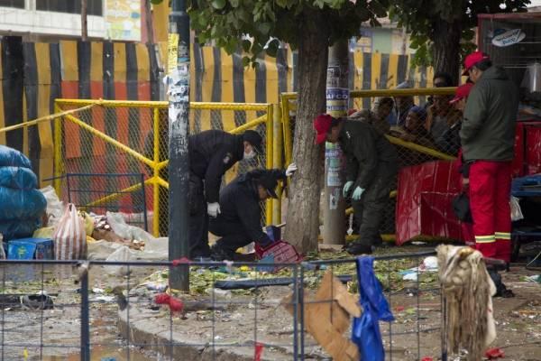 Explosión Oruro