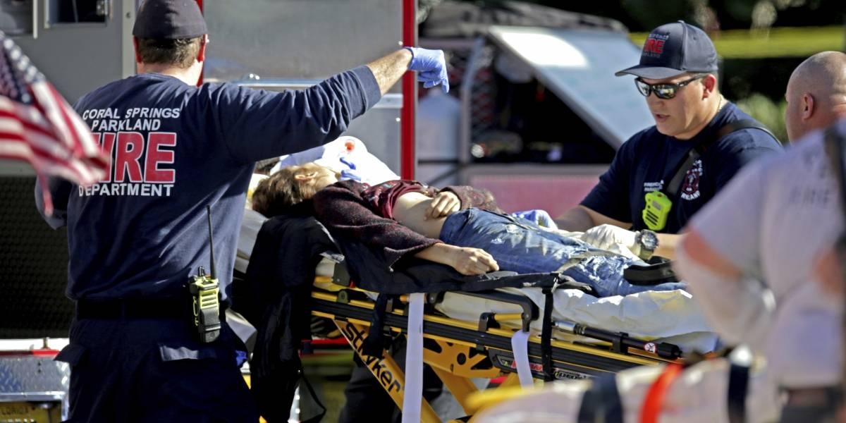 Masacre de Florida: El impactante registro de un estudiante al interior de una sala durante el tiroteo