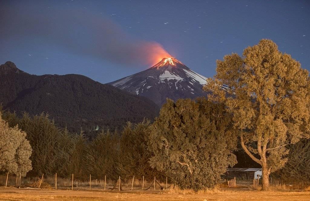 Erupción del Volcán Villarica