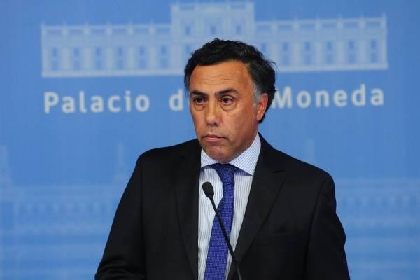 El ministro Secretario General de Gobierno (s) Omar Jara