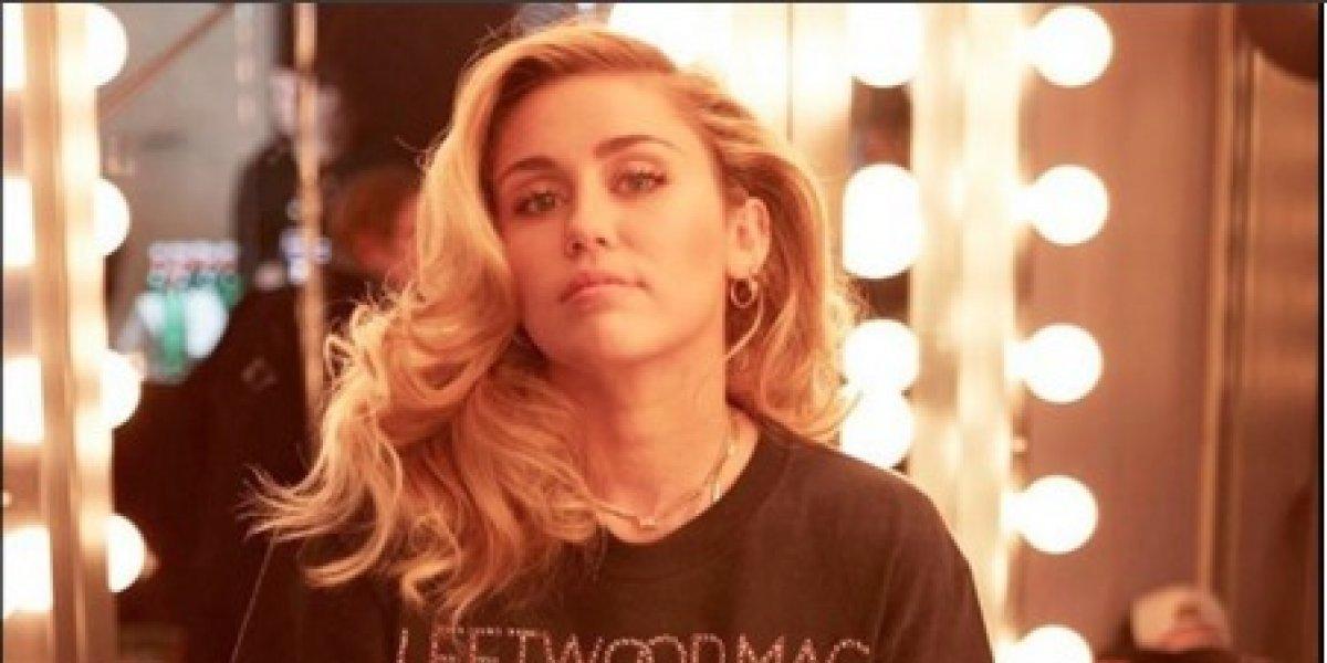 Miley Cyrus publica fotos con poca ropa y recibe fuertes amenazas