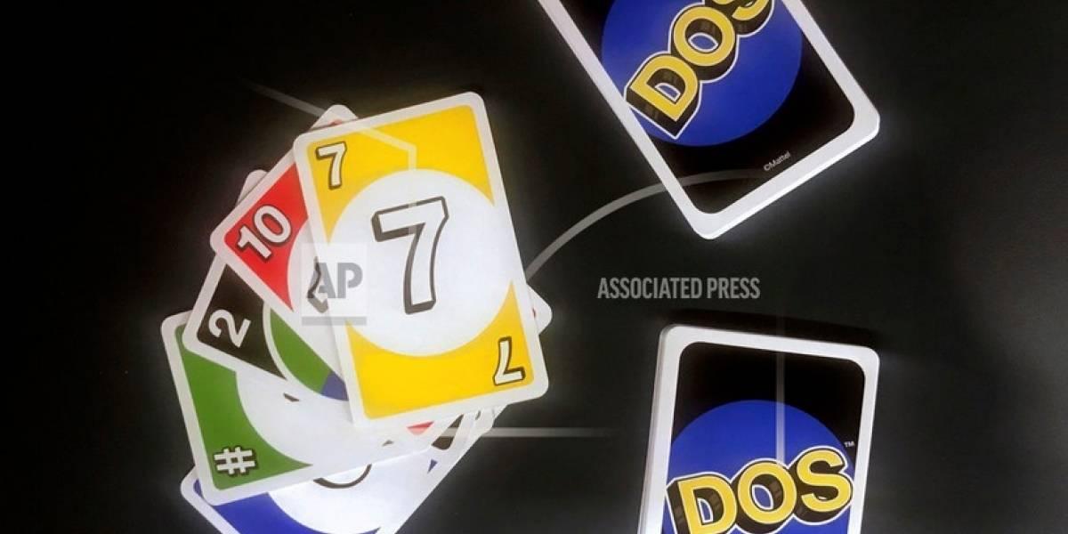 """Mattel revitaliza su juego de cartas Uno, ahora con """"Dos"""""""
