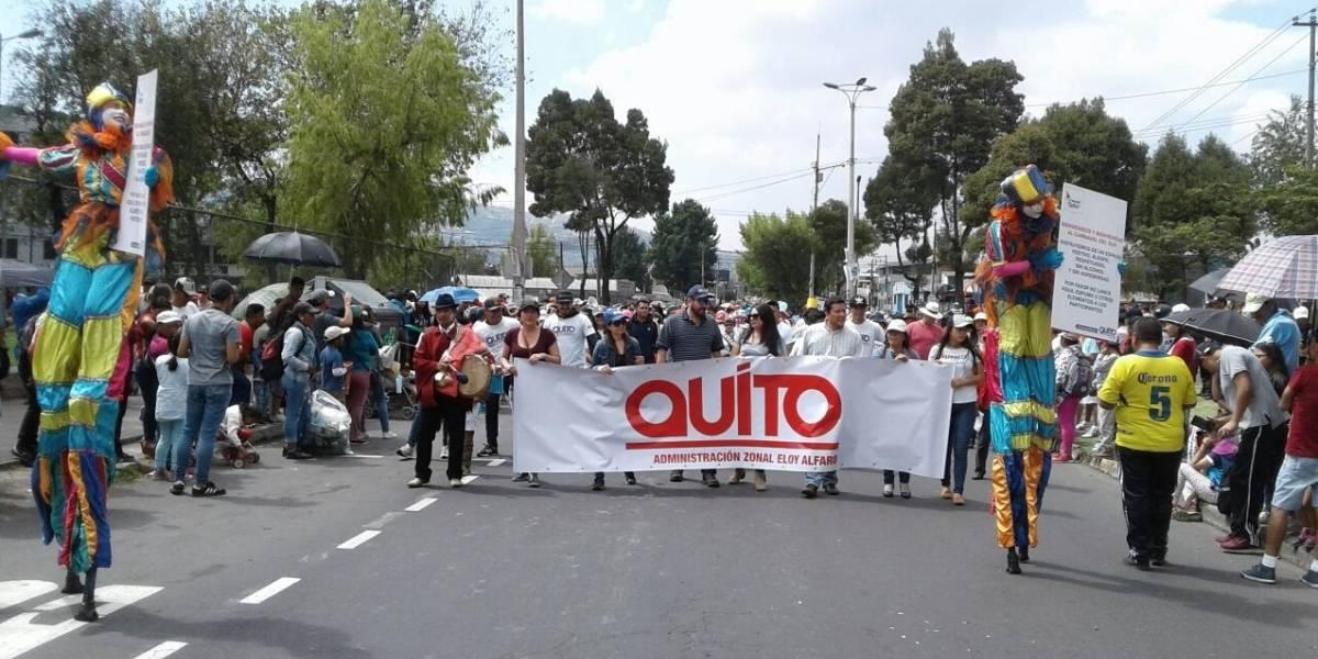 Un millón de personas salieron de Quito en feriado de Carnaval