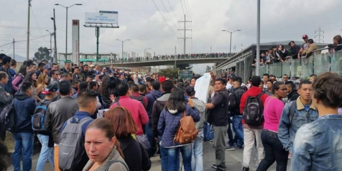 22 buses de TransMilenio vandalizados y 14 capturados durante protestas
