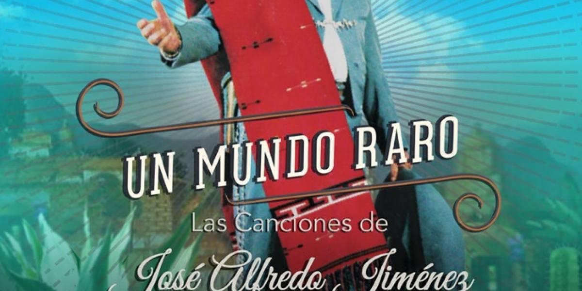 'Un mundo raro', el tributo al ícono mexicano José Alfredo Jiménez