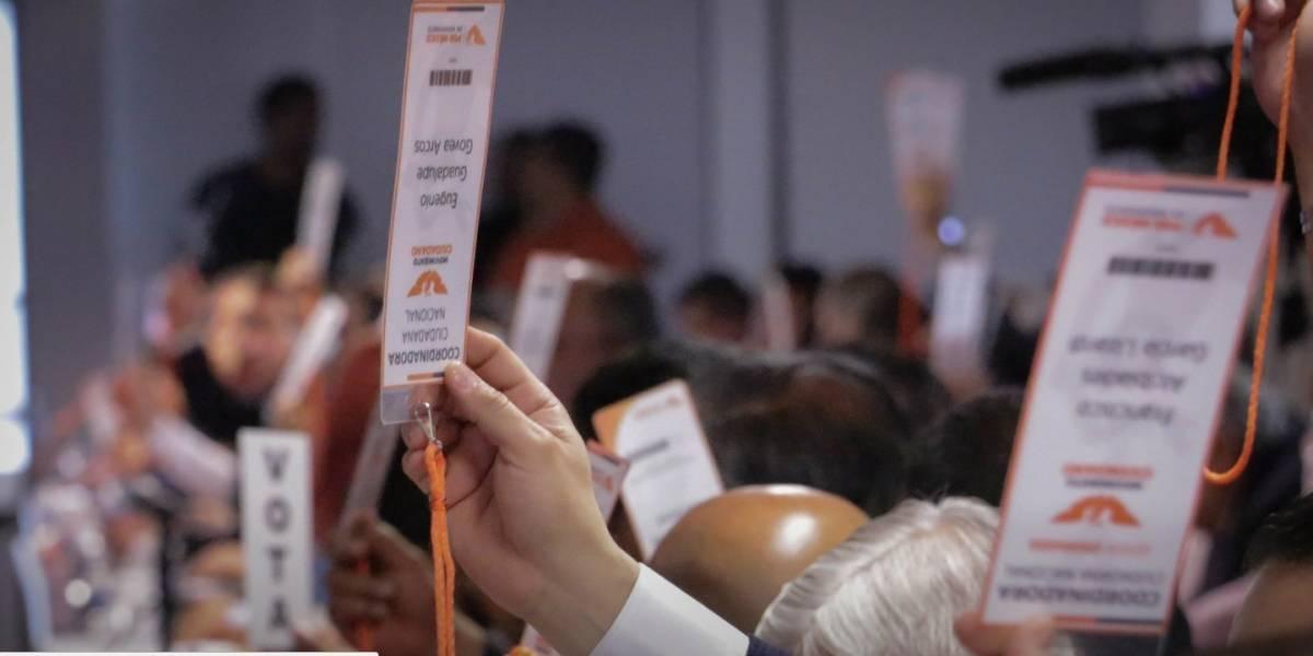 Movimiento Ciudadano vota por Anaya; solo espera ratificación del PRD