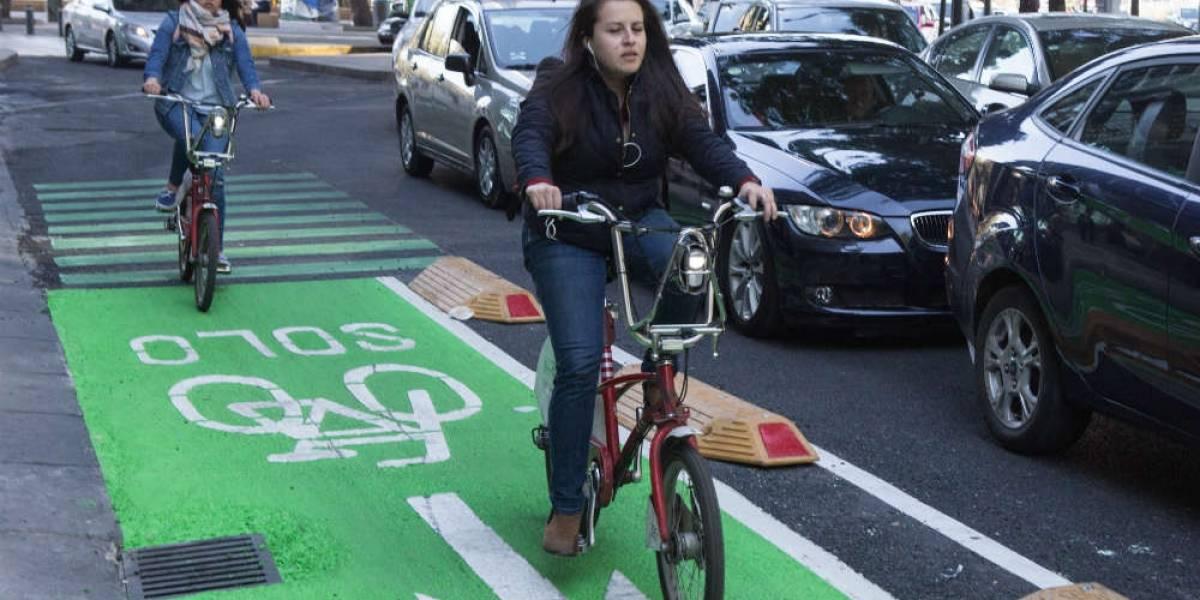 Así sería la continuación de la ciclovía de Reforma