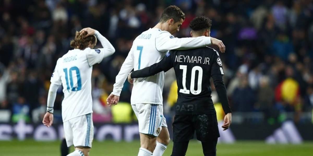 Cristiano y un doblete en duelo ante Neymar