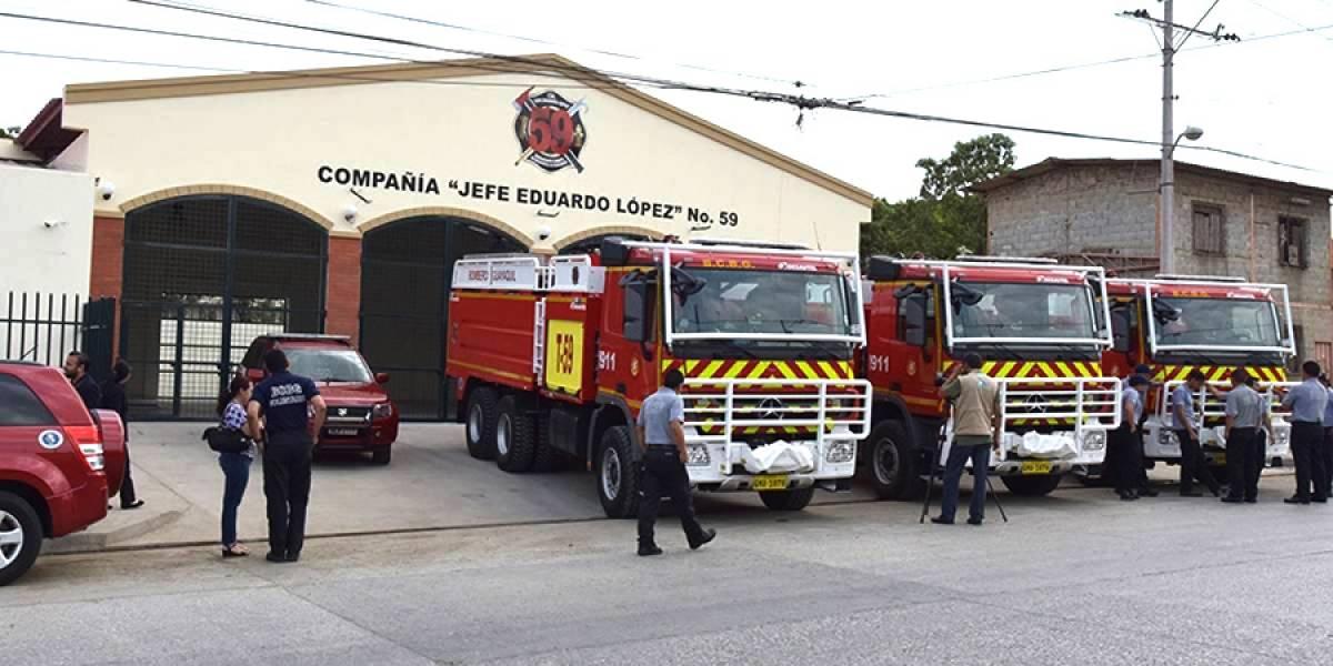 Cuerpo de Bomberos de Guayaquil capacitará a nuevos aspirantes