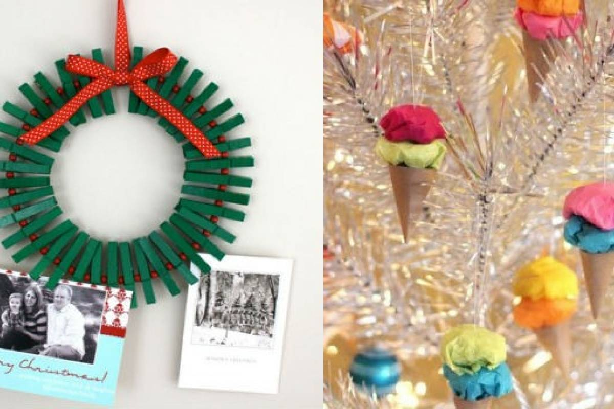 Diy 10 ideas para decorar tu casa esta navidad sin gastar for Ideas para decorar la casa con reciclaje