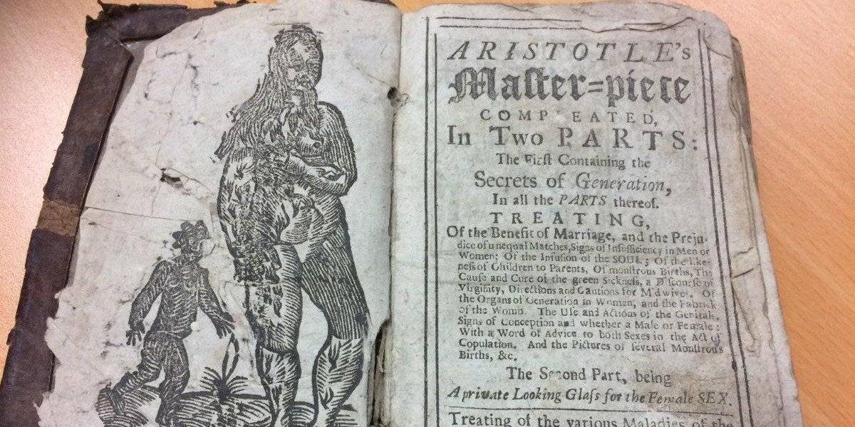 """Sale a la luz un """"manual de secretos del sexo"""" escrito y censurado en 1720 por su impactante contenido"""