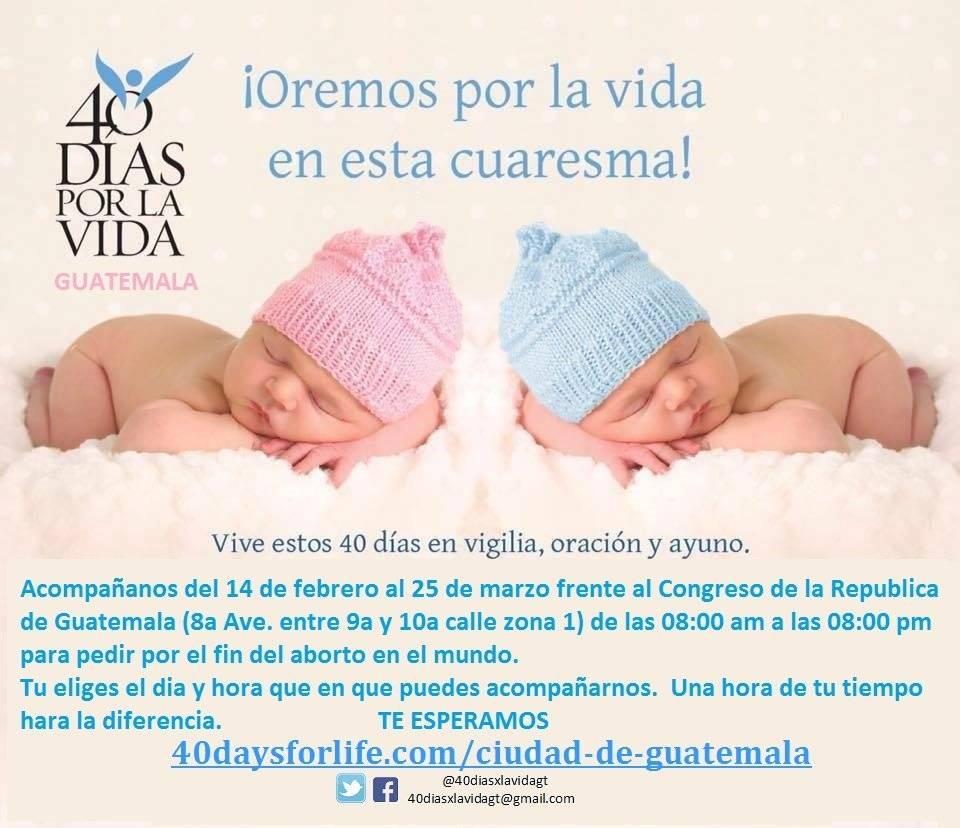 Campaña contra el aborto
