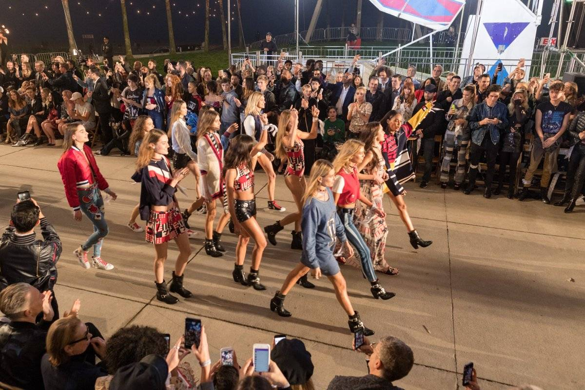 TommyLand Tommy Hilfiger Spring 2017 Fashion Show - Front Row & Atmosphere