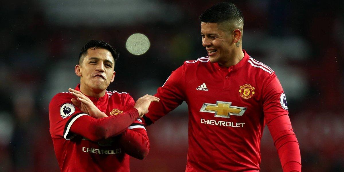 Marcos Rojo recuerda los encuentros con Alexis como rival: