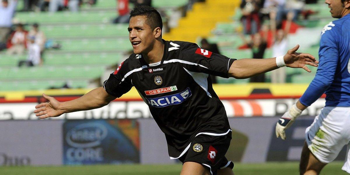 """La locura de Alexis comenzó en Udinese: """"Una vez dejó sus llaves dentro del auto y corrió 8 kms hasta su casa"""""""