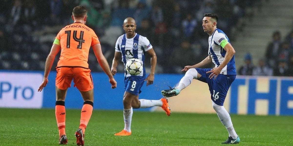 Liverpool humilla al Porto de Herrera, Corona y Reyes