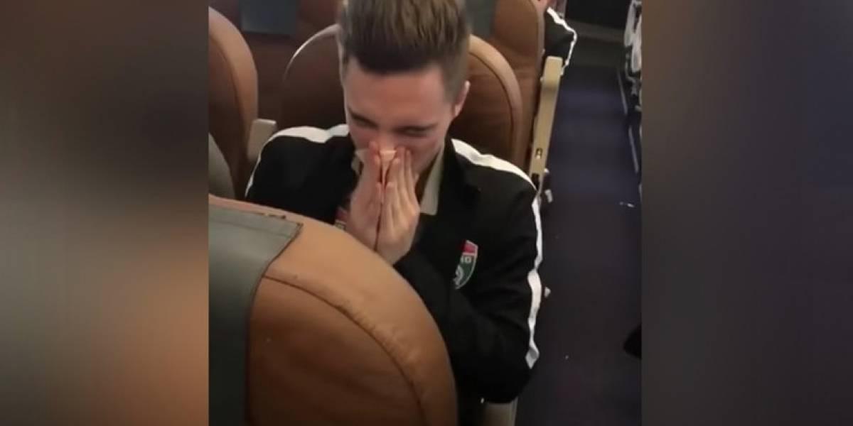 VIDEO. Indignación por futbolista que se sonó la nariz con un billete