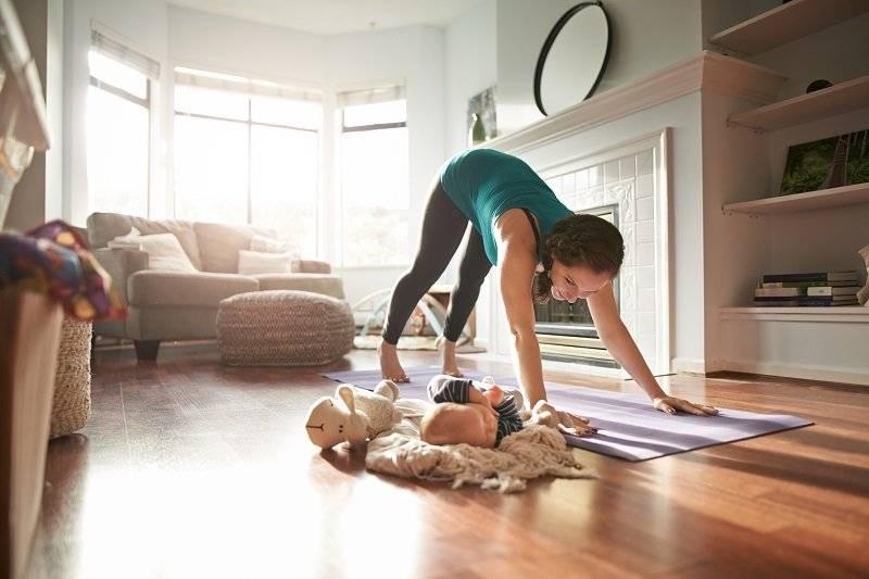 Yoga en su casa