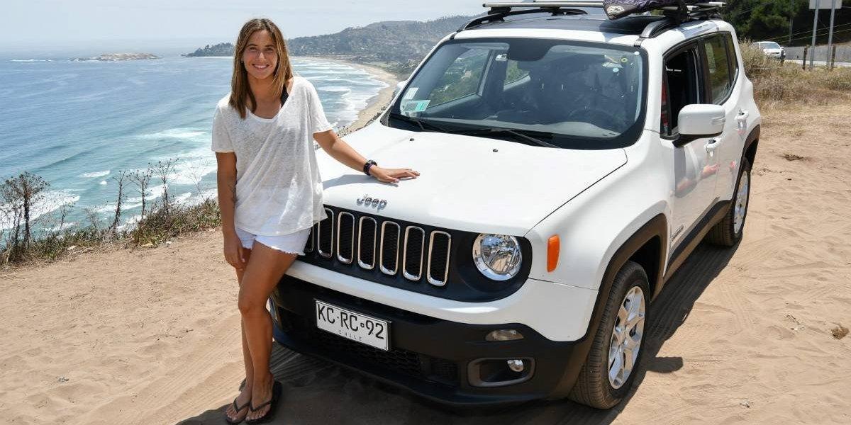 """Jeep """"renueva"""" a su embajadora Trinidad Segura"""