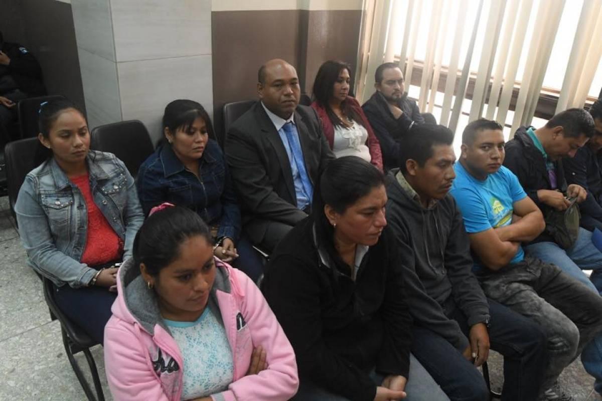 Estrada y 10 personas más están vinculadas por la fuga de Marixa Lemus. Omar Solís