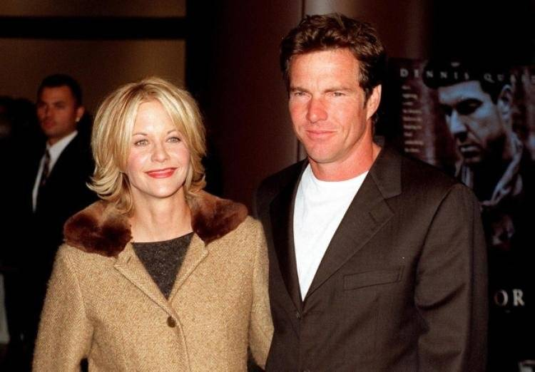Meg Ryan y Denis Quaid