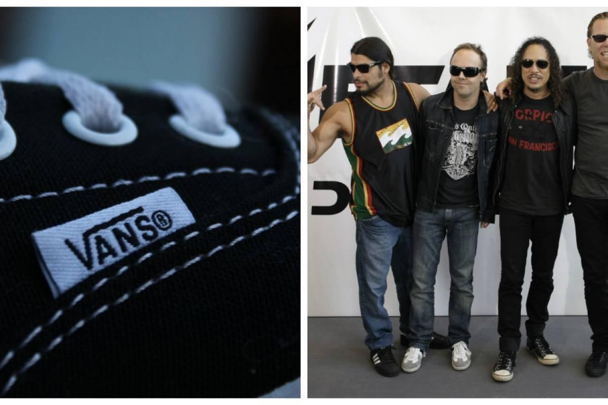 d823fe61a0c9f1 Vans y Metallica crearon nueva línea de tenis y accesorios ...