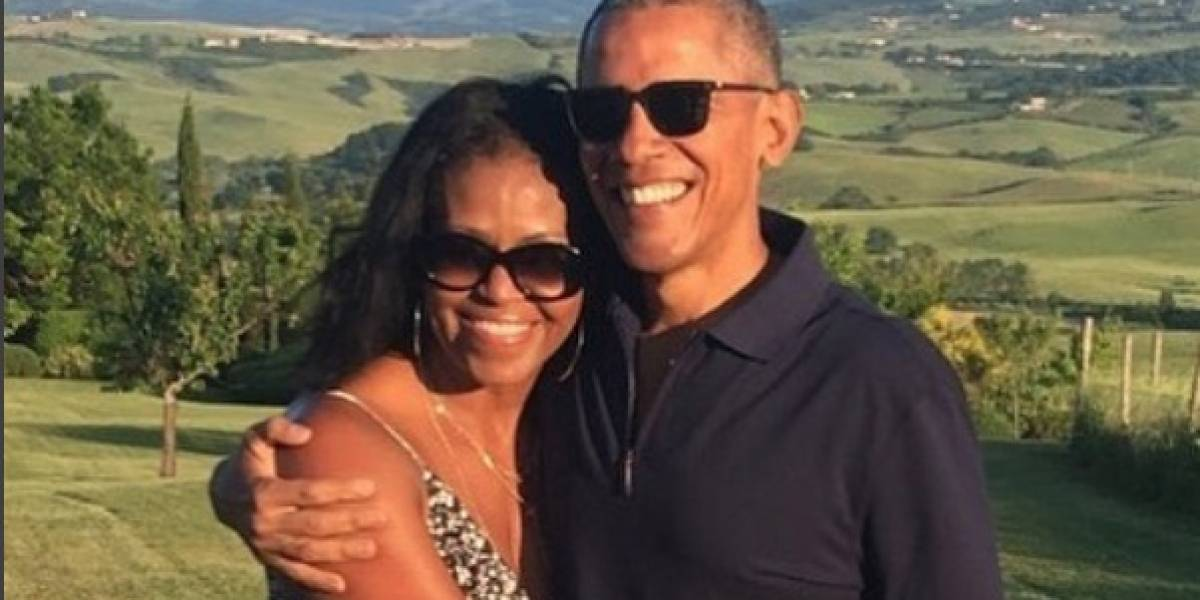 Los románticos mensajes de los Obama por San Valentín