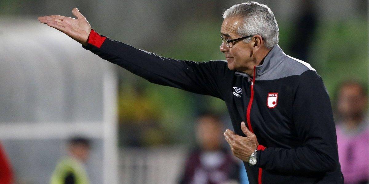 """Técnico de Santa Fe valoró el trabajo de Wanderers en la Libertadores: """"Nos sorprende que estén en segunda división"""""""
