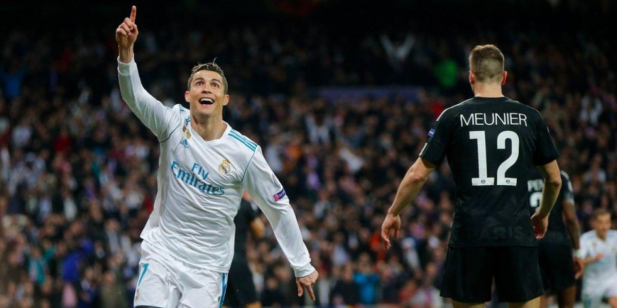 Con doblete de CR7, el Real Madrid se impone ante el PSG