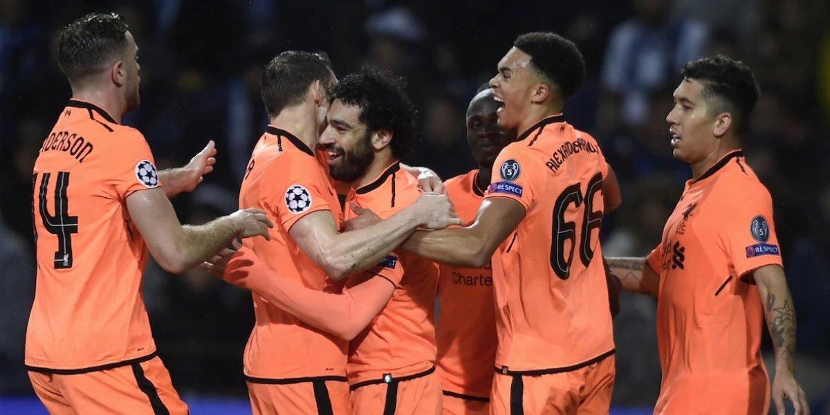 Con un triplete de Mané, el Liverpool se divierte con el Oporto