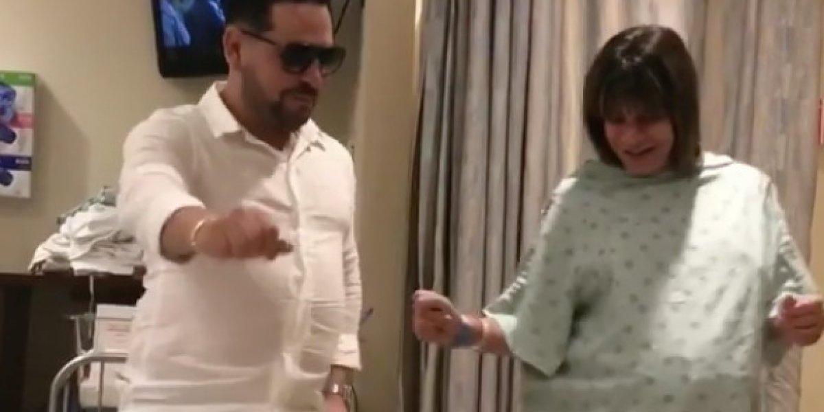 Embarazada hace el #DuraChallenge en pleno hospital