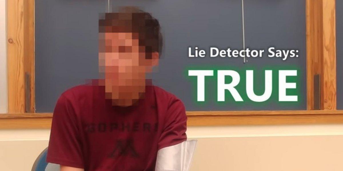 Presunto viajero del tiempo pasa el detector de mentiras