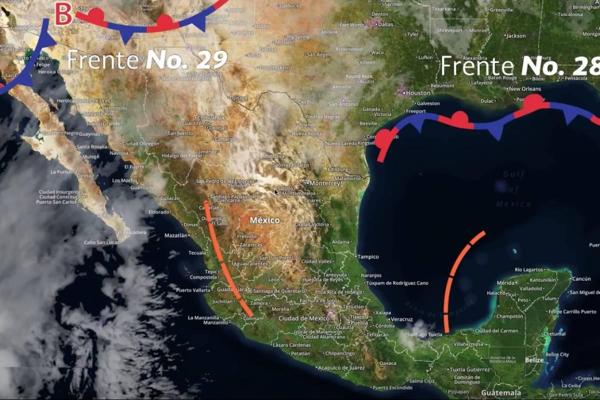 Se prevén lloviznas y bajas temperaturas en NL, Coahuila y Tamaulipas
