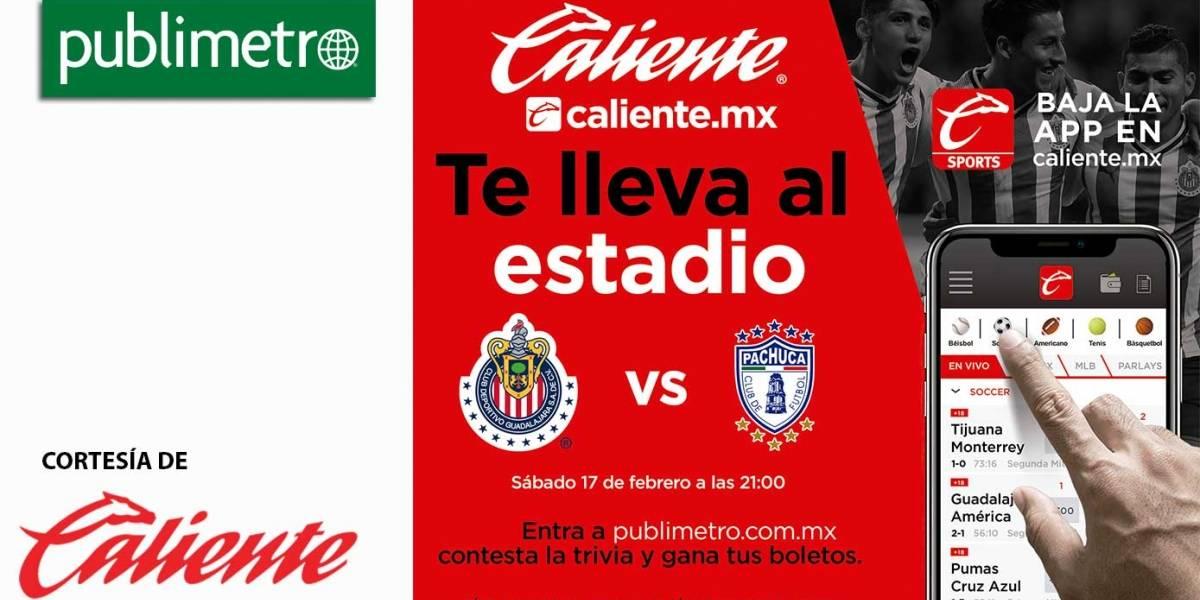 ¡Gana! Boletos para Chivas y Pachuca