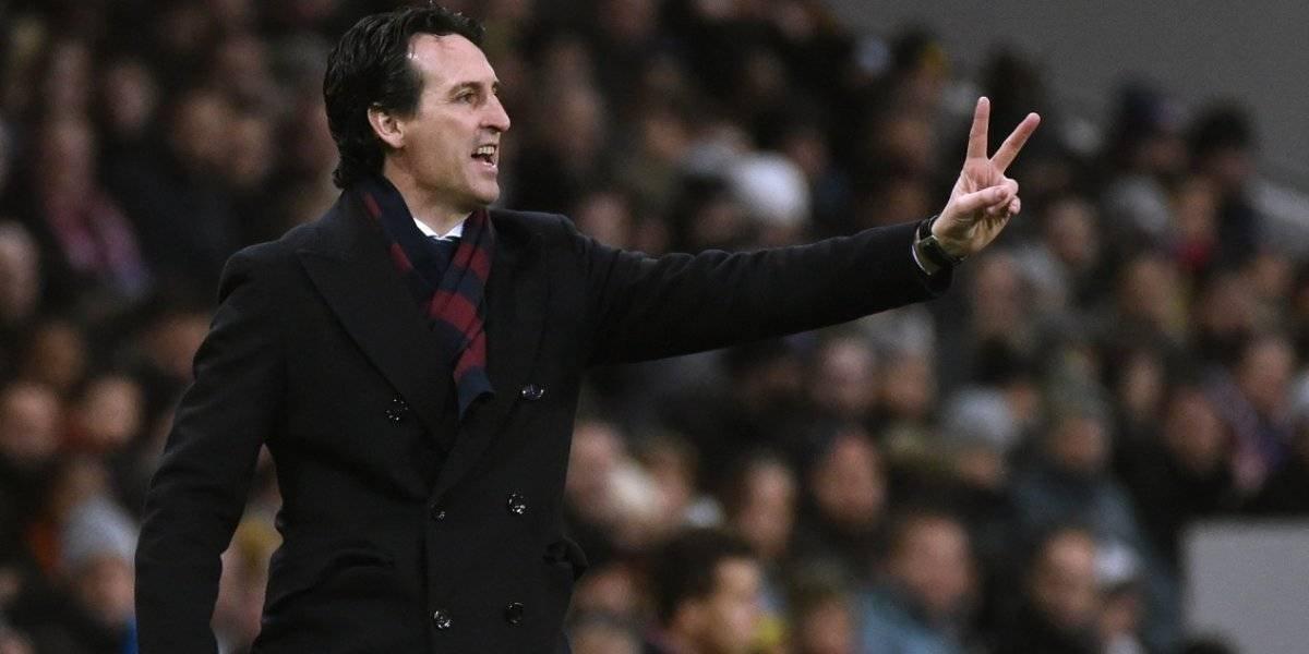 Unai Emery critica la actuación arbitral en el partido Real Madrid y PSG