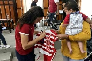 Fotogalería: las campeonas rojiblancas fueron reconocidas