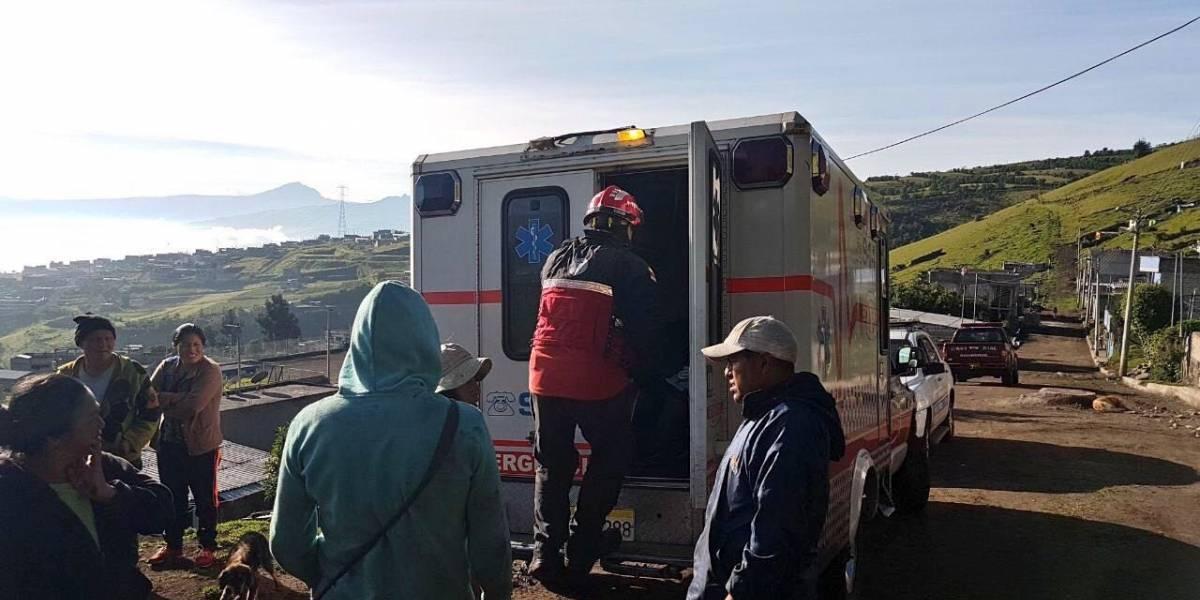 Cuatro excursionistas extraviados en el sur de Quito fueron rescatados