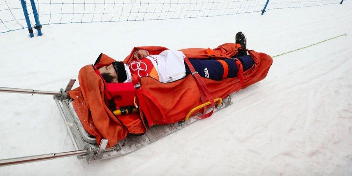 VIDEO: La terrible caída de competidor en Juegos de Invierno