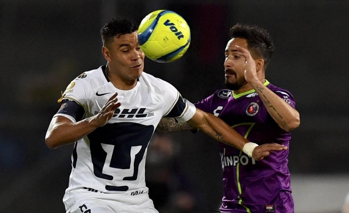 Los Pumas sufrieron un revés ante Veracruz.