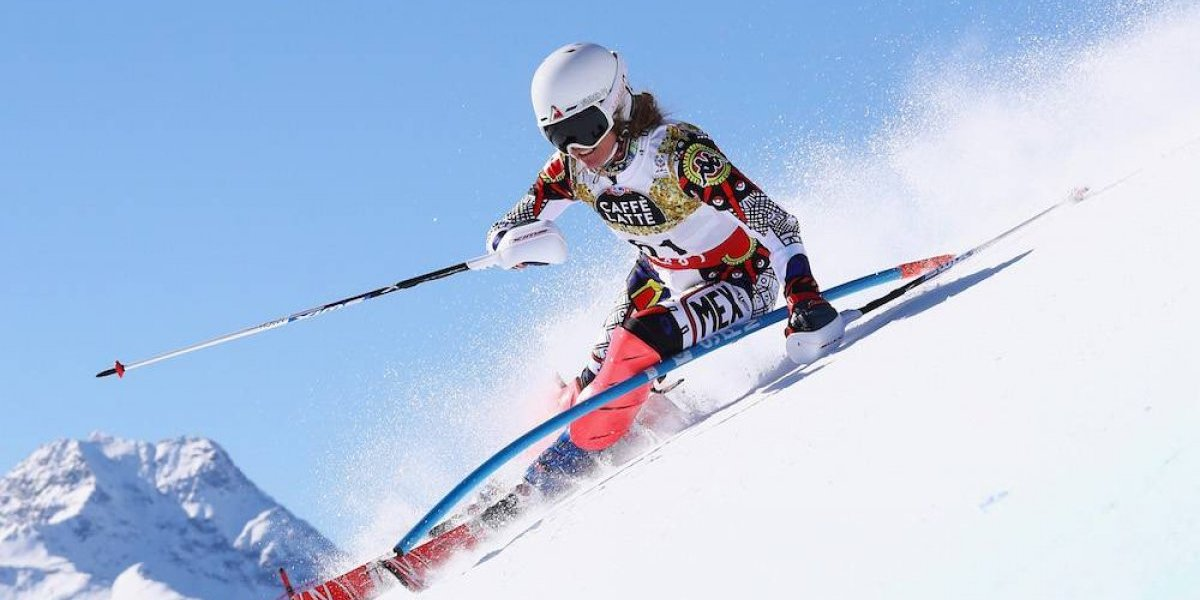 Mexicana Sarah Schleper avanza a segunda ronda en el Slalom Gigante