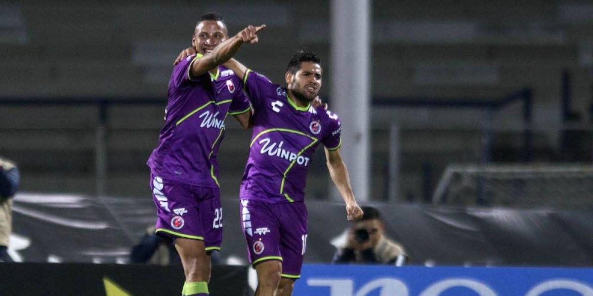 Veracruz termina con el invicto de los Pumas