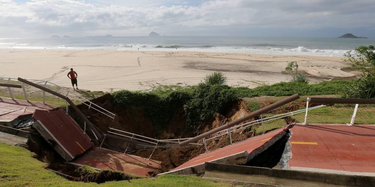 Chuva que atingiu o Rio acontece uma vez a cada 152 anos