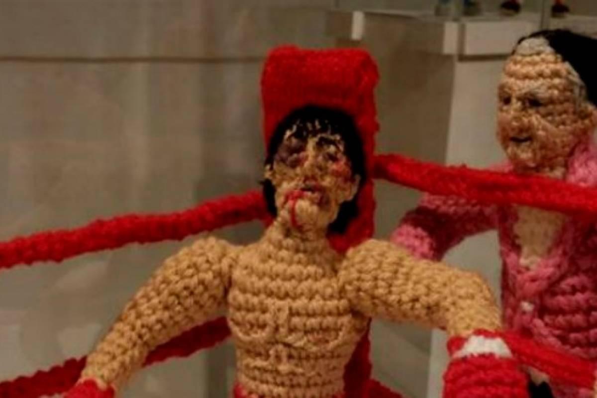 Gabriela Mistral, Rocky Balboa y Gene Simmons a crochet: la lana en ...